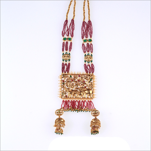 WST771 Beads Antique Necklace Set