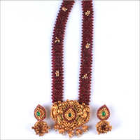 WST1035R Beads Antique Necklace Set