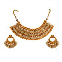 WST2466W Beads Antique Necklace Set