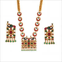 WST1707MLT Paachi Kundan Necklace Set