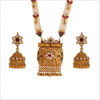 WST1728RG Paachi Kundan Necklace Set