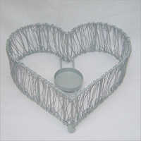 SE I 85 Heart Shape Candle Holder