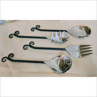 Cutlery 2 Servers2 Double Hook 4pcs Set