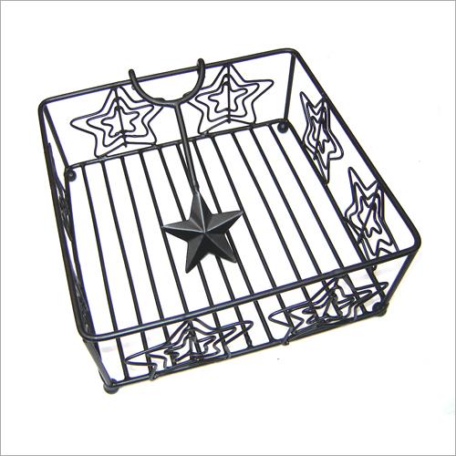 SE I 80 Steel Star Napkin Holder