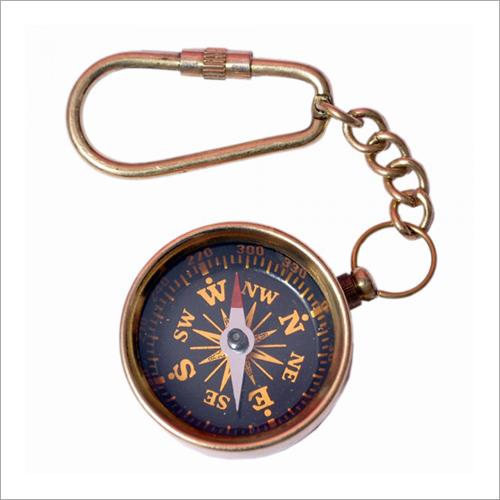 1.5 Inch Compass Key Chain