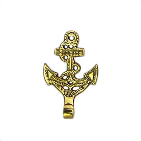 4 Inch Solid Brass Anchor Key Holder