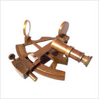 Antique Brass Nautical Sextant
