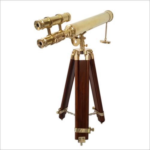 Vintage Style Tripod Telescope