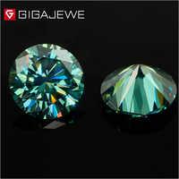 Dark Green Color Moissanite Diamond