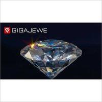 Crystal Round Moissanite Diamond