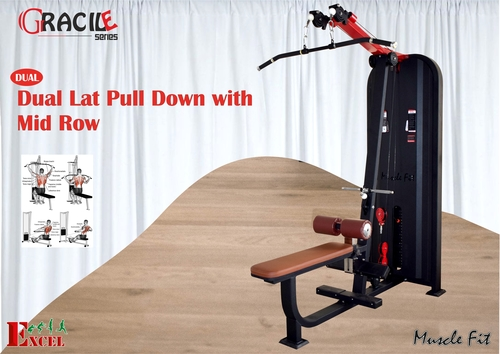 Lat Pull Down With Mid Down