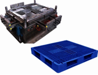 Plastic Double Way Pallet Mould