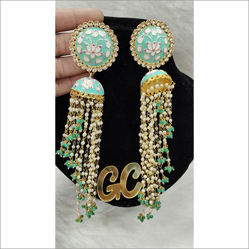 Meena Kundan Earring