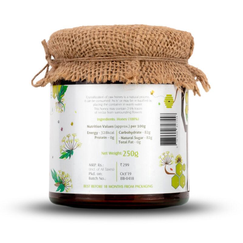 Natural Fennel Honey - 250gram