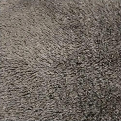 Black Creazy Fur Fabric