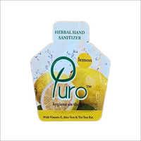 Lemon Herbal Hand Sanitizer