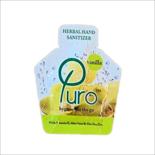 Vanilla Herbal Hand Sanitizer