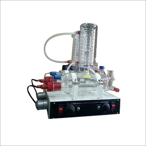 Double Stage Distillation Apparatus