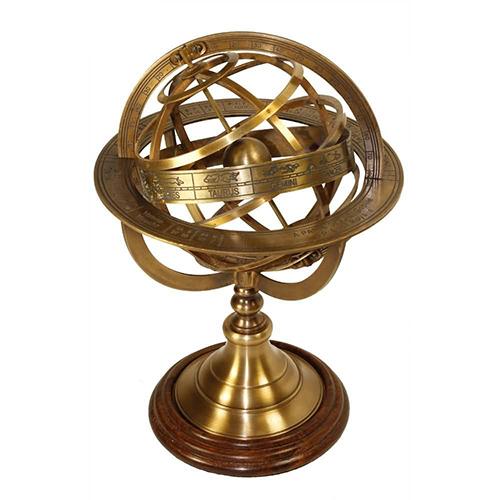 Antique Brass Armillary Sphere