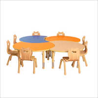 Cluster Table And Chair