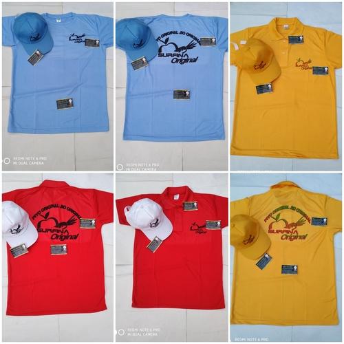 Company Brand Printed Collar Tshirt