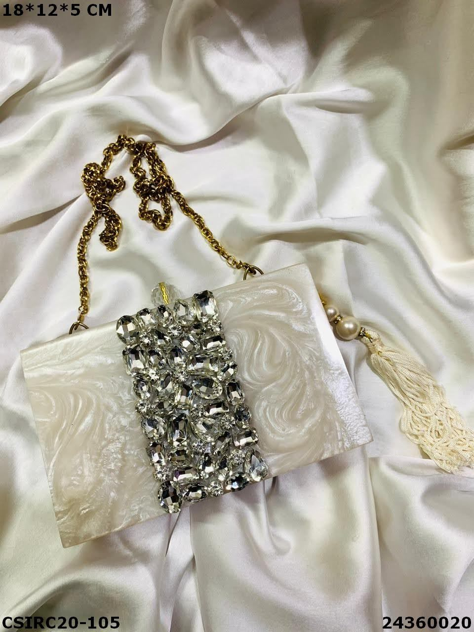 Exclusive Bridal Resin Clutches