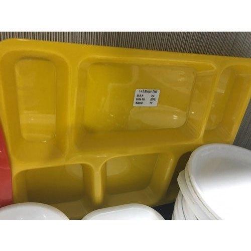 Food-Grade Virgin Plastic 4-Compartments