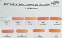 Heat Cure Acrylic Denture Base Material Powder