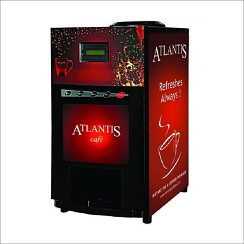 Atlantis Cafe Plus 3 Lane Tea And Coffee Vending Machine With Dedicated Hot Water Option