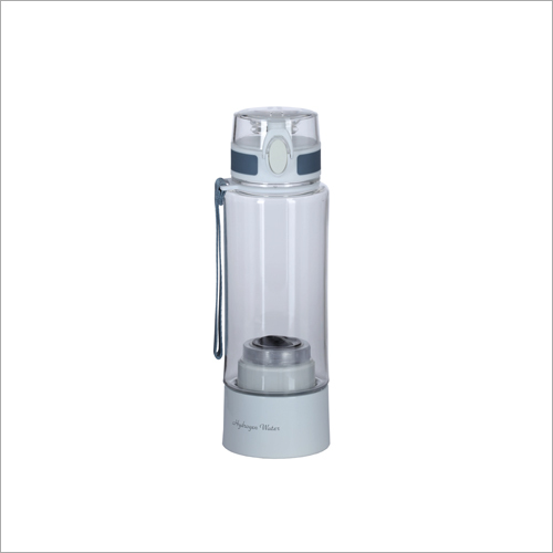 White Hydrogen Water Bottle