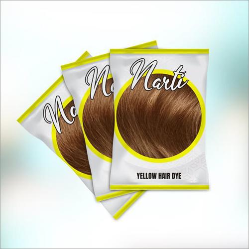 Yellow Hair Dye