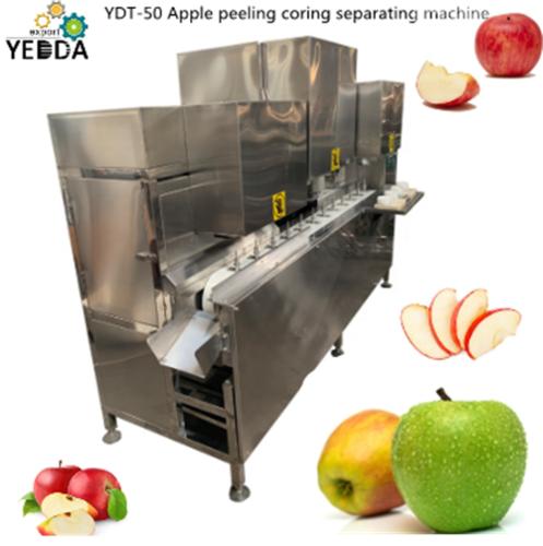 Ydt-50 Apple Pear Peeling Coring Separating Machine