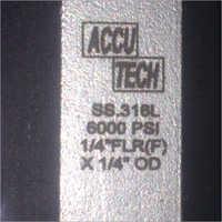 Laser Marking Name Plate