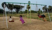4 Seated Swing