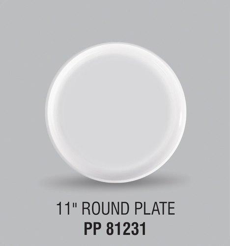 11 Inches Plastic Plates