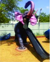 American Lucky Elephant Slide