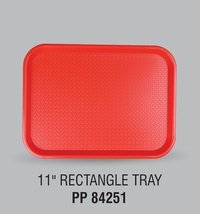 Plastic 11 Inches Rectangle Tray