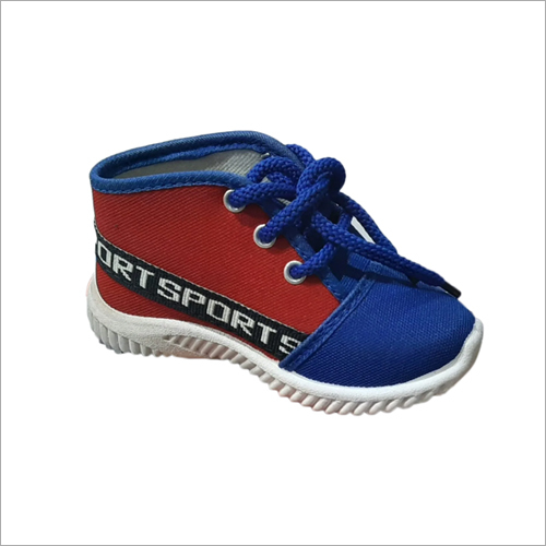 Kids Blue Colour Sports Type Shoes