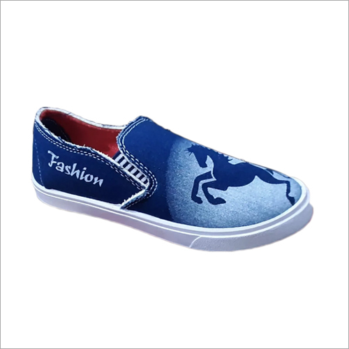 Mens Stoke Denim Canvas Mocation Shoes