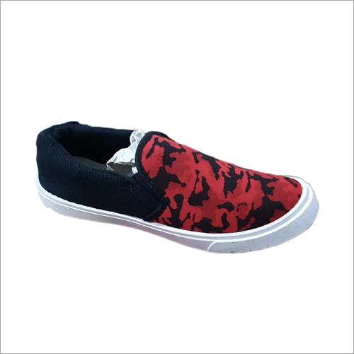 Mens Stoke King Canvas Mocation Shoes