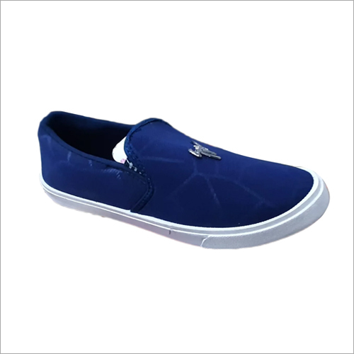 Mens Stroke Canvas Shoes