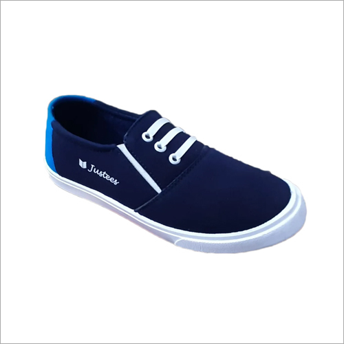 Mens Duster Blue Colour Canvas Shoes