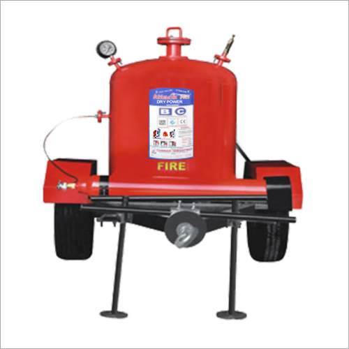 Trailer Mounted Fire Extinguisher