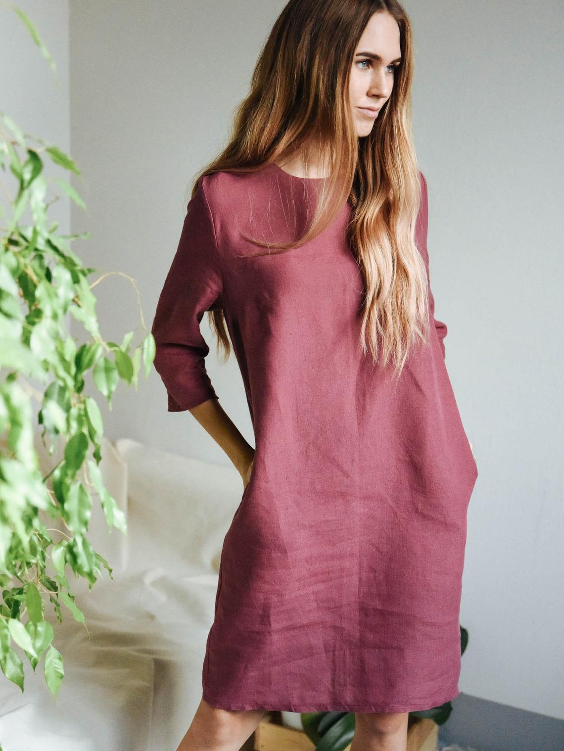 Linen Dresses | Linen Flax Dresses | Made to Order | Manufacturing