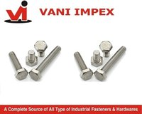 Grade Ss304 And 316 Stainless Steel Hex Bolts