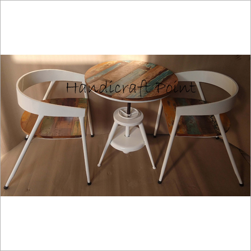Restaurant Dining Table Cum Coffee Table Round