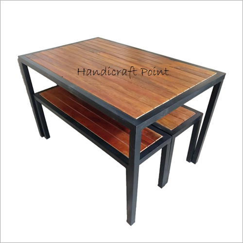 Canteen Dining Table And Bench Set