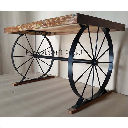 2 Wheel Restaurant Table