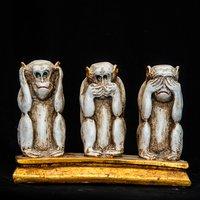 Resin Monkey Statue