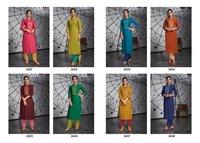 Fancy Lining Silk Work Kurtis